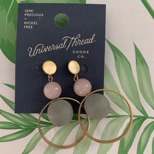 NWT universal thread earrings